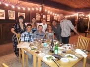 Dinner at Tres Gallinas. Valle de Guadalupe, Baja California