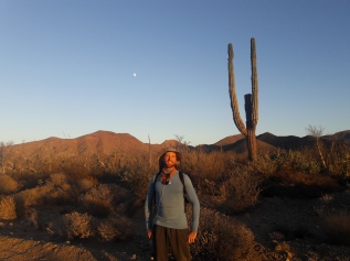 Annual Baja 100 hike with Baja Travesies. Middle-of-nowhere, Baja California