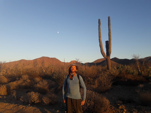 Annual Baja 100 hike with Baja Travesies. Middle-of-nowhere, Baja California