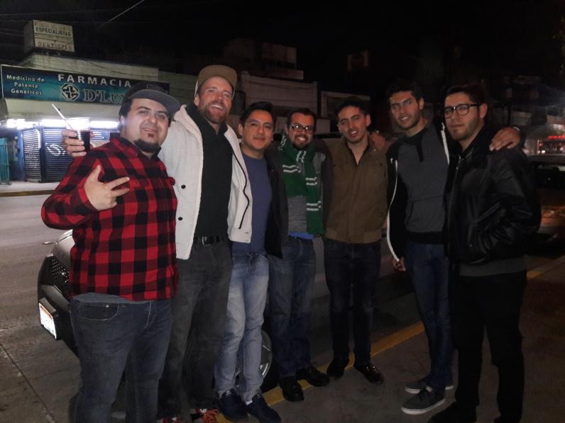 Outside Mamut Cerveceria. Third St, Centro, Tijuana