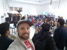 Creative Mornings Tijuana meeting at CRU Coffee Roasters. Blvd Salinas, Tijuana