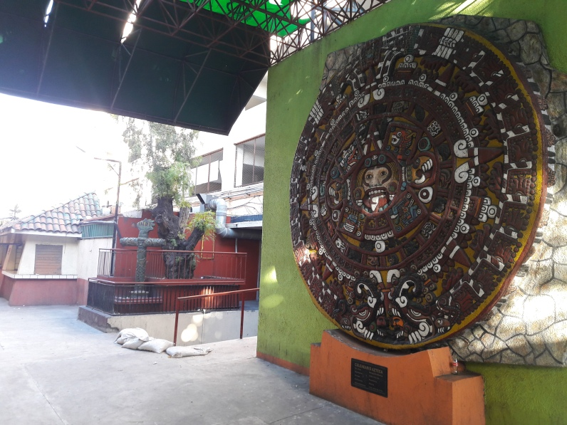 Sorry that I can't remember if this is Aztec or Mayan influenced, but it's rad. Centro, Tijuana