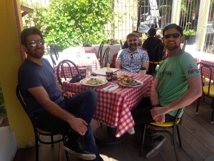 The best pizza in Tijuana. Tony's Pizza (he's from Manhattan, so you know it's good). Colonia La Cacho, Tijuana