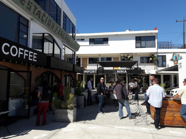 Turista Libre pit stop. Nativo Coffee Community, Colonia Empleados Federales, Tijuana