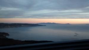 The beautiful coastal drive south of Rosarito