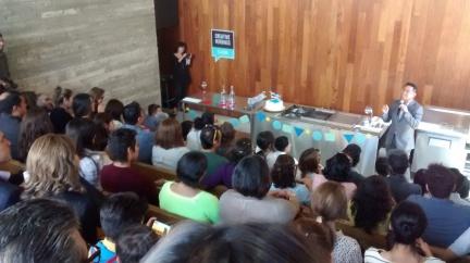 Creative Mornings Tijuana at the Culinary Art School.